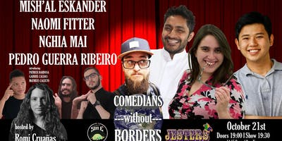 10th Comedians Without Borders - Oct 21st