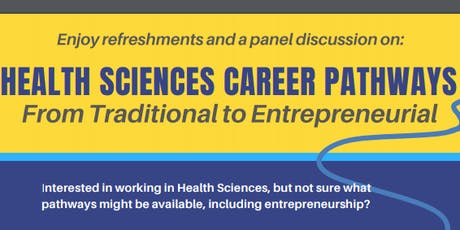 Healthcare Sciences Career Pathways: From Traditional to Entrepreneurial tickets