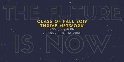 The Future Is Now: Thrive Network Fall 2019 Graduation