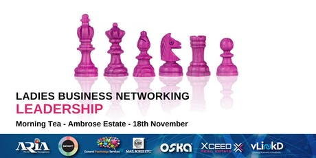 District32 Ladies Business Networking - Leadership - Mon 18th Nov tickets