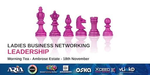 District32 Ladies Business Networking - Leadership - Mon 18th Nov