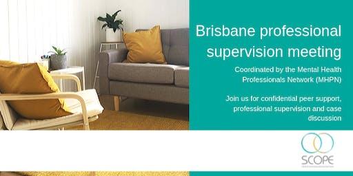Brisbane Professional Supervision Meeting