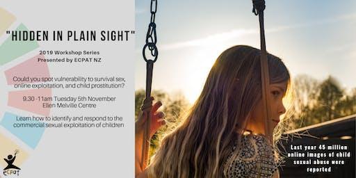 Hidden in Plain Sight: Ending Child Sexual Exploitation 101
