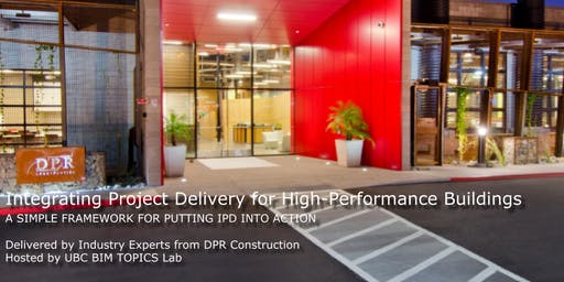 Workshop: Integrating Project Delivery for High-Performance Buildings