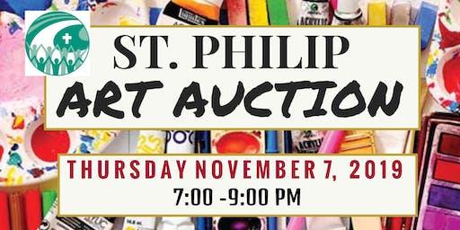 St. Philip  Art Auction Gala
