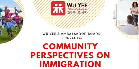 Community Perspectives on Immigration: A Conversation with Local Leaders tickets