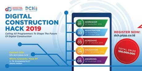Digital Construction Hack 2019 tickets