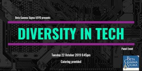 BGS Presents: Diversity in Tech tickets