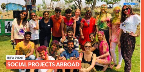 Go abroad: Info event about social projects abroad | Augsburg Tickets