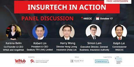 InsurTech in Action  | FinTech Week Hackathon 2019 tickets