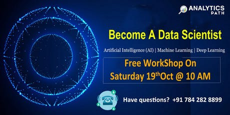 Register For Free Data Science Demo- On Sat, 19th Oct @ 10 am tickets