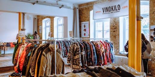 FREE TICKETS: Vintage Kilo Sale • Kassel • VinoKilo