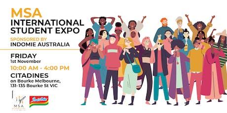 MSA International Student Expo sponsored by Indomie Australia tickets