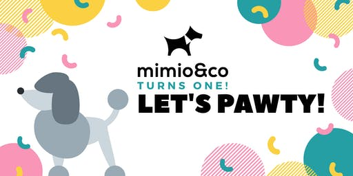 Mimio & Co First Birthday Celebration