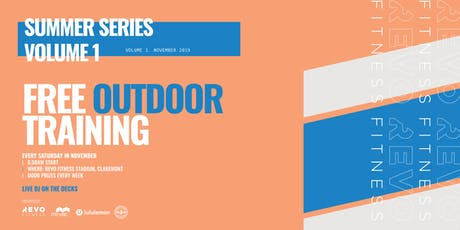Summer Series by Revo Fitness // FREE OUTDOOR TRAINING tickets
