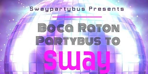 Boca Partybus to Sway October 17th