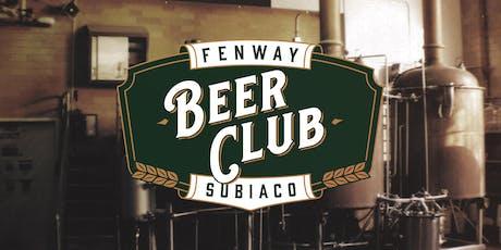 Fenway Beer Club tickets