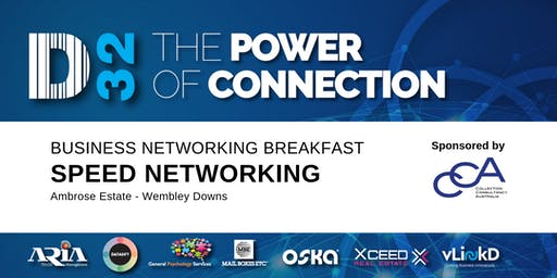 D32 Business Speed Networking - Collection Consultancy Australia -15th Nov