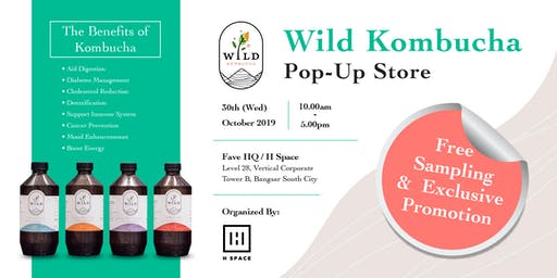 Wild Kombucha Pop-Up Store