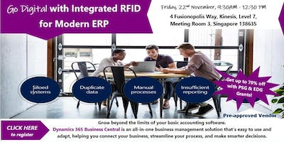 Go Digital with Integrated RFID  for Modern ERP
