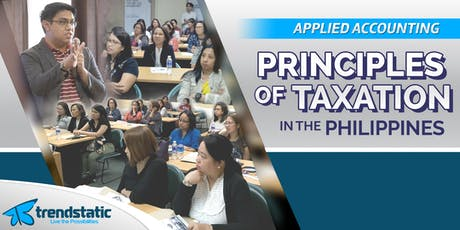 Principles of Taxation in the Philippines (Essentials) tickets