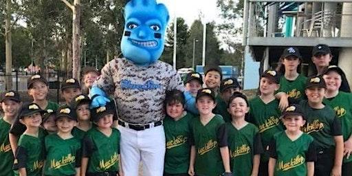 Barter Baseball Buddies - Blue Sox