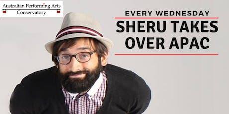 Popping with Sheru tickets
