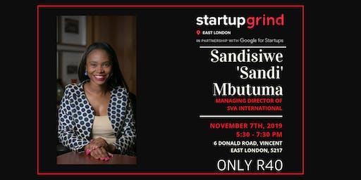 "We are hosting Sandisiwe ""Sandi"" Mbutuma"