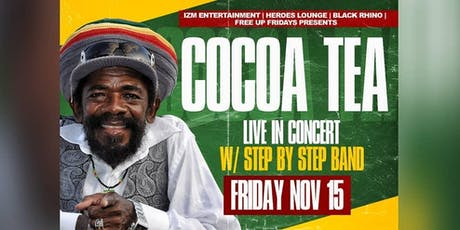 COCOA TEA LIVE IN CONCERT / Early Bird tickets