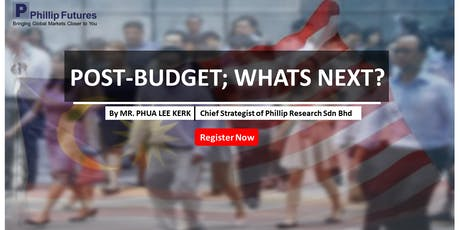 Post-Budget; What's Next? tickets