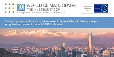 World Climate Summit - The Investment COP 2019