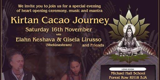 KIRTAN Cacao Journey with Elahn & Gisela
