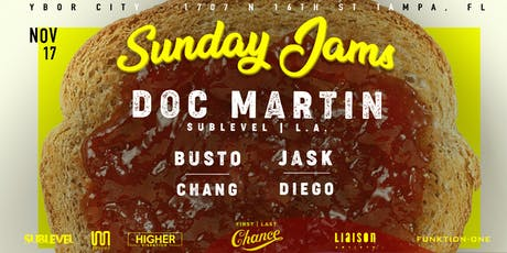 Doc Martin (Sublevel / L.A.) at Sunday Jams tickets