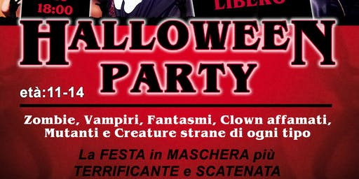 Halloween Party Prato 2019