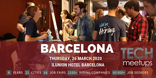 Barcelona Tech Job Fair Spring 2020 By Techmeetups