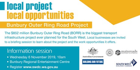 Bunbury Outer Ring Road Project - Local Business Briefing tickets
