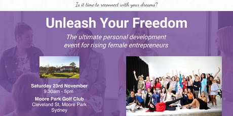 Unleash Your Freedom tickets