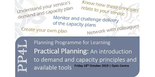 Practical Planning: Introduction to demand and capacity principles -StAsaph