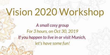 Your 2020 :  see it clearly, thrive and achieve your life goals (excl. for Corporate Women) tickets