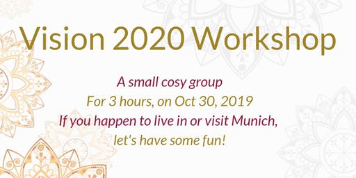 Your 2020 :  see it clearly, thrive and achieve your life goals (excl. for Corporate Women)