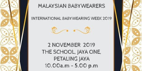 Malaysian Babywearers - International Babywearing Week 2019 tickets