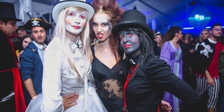 Halloween party with welcome drink tickets