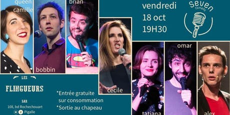 Seven Comedy Club N°37 billets