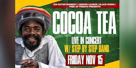 COCOA TEA  Live In Concert tickets