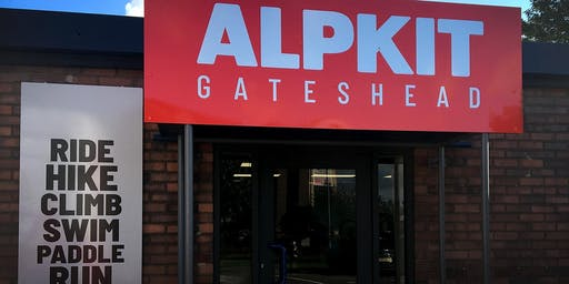 Alpkit Gateshead Official opening weekend