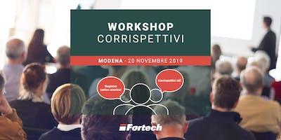 [MODENA] Workshop gratuito sui Corrispettivi elettronici