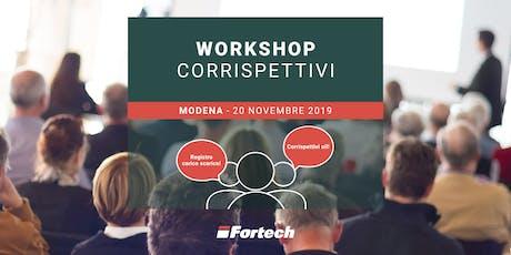 [MODENA] Workshop gratuito sui Corrispettivi elettronici biglietti