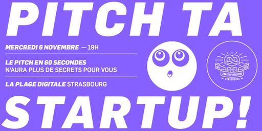 Workshop : Pitch ta startup !