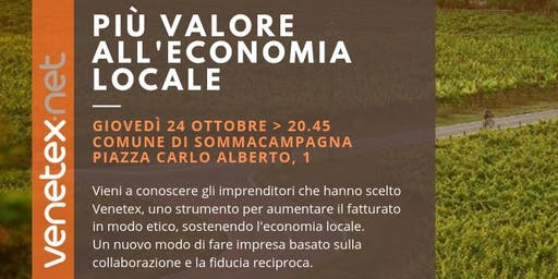 Venetex, più valore all'economia locale