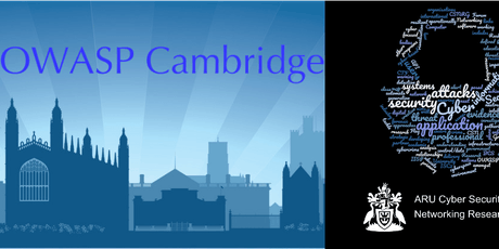 ARU CSNRG, BCS Cybercrime  & OWASP Cambridge Nov Meeting – Tues 5th tickets